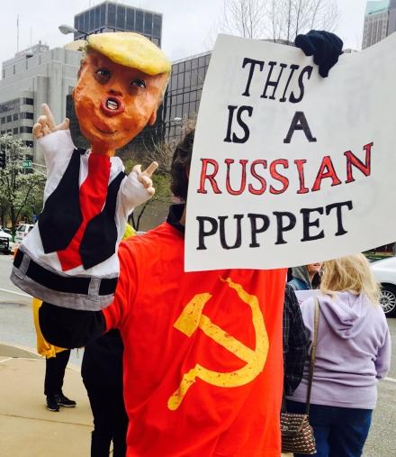russian puppet